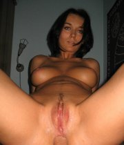 Super pretty short haired ex wife