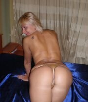 Blonde mature wifey wuth great butt