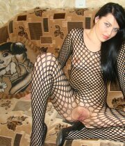 Wife in fishnets