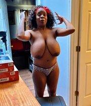 Sexy Black Slut With Big Fuckable Tits