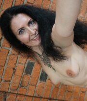 Mature wifey showing her body