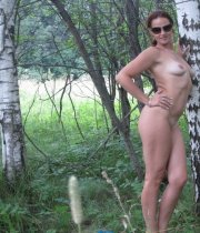 My Wife Posing Naked In Public