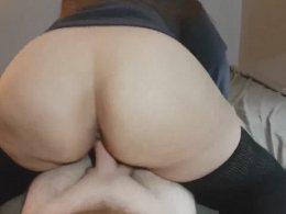 Making Him Cum With My Big Booty Is Quite An Easy Task!
