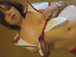 Amazing Babe In A Schoolgirl Uniform Sucks Dick And Gets Pounded