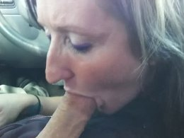 I Stopped The Car So My Mature Wife Could Suck Me Off