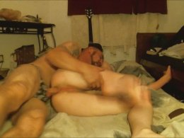 Anal Pleasures With A Skinny Brunette Sweetheart