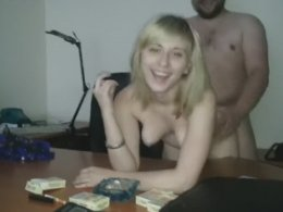 Young blonde secretary gets fucked by her boss