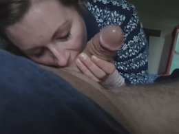 Wife needs to take care of her horny husband