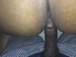 My woman loves it when I fuck her from behind