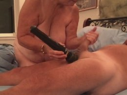 Fat wife makes some complications with her hubby