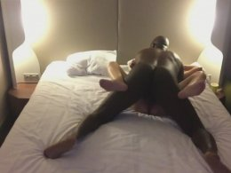 First time big black cock makes her scream