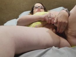 Fat wife fucked by her fat husband on the bed