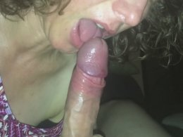 Mature wife and the longest rod she has ever sucked