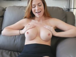 I had my boobs done recently, do you want to cum on them?