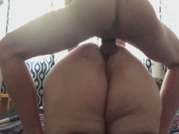 Slamming the asshole of a big wife