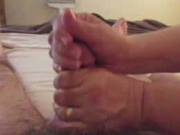 New Year is the best day to get a handjob