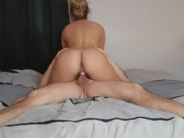 Horny hottie is ready to be fucked now