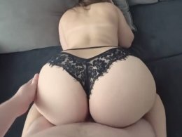 PERFECT big ass made for fucking her from behind
