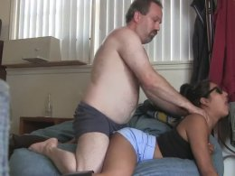 Young chick gets fucked by a neighbor
