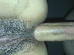 Long dick makes a hot babe moan
