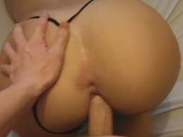 Lovely girl craves for my fat dick