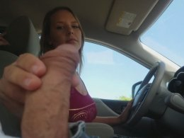 I can jerk a dick and drive