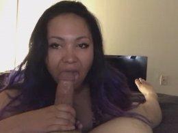 Her specialty is sucking a boner