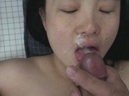 Asian cutie makes me cum fast