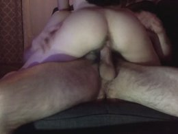 Hairy guy fucks his roommate when he comes from work
