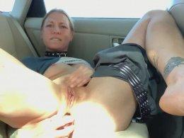 Masturbating In Parking Lot