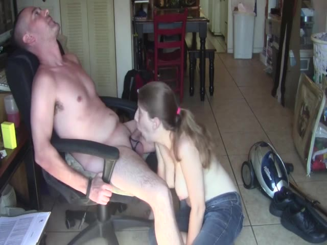 My horny wife wants to be covered in jizz after a blowjob