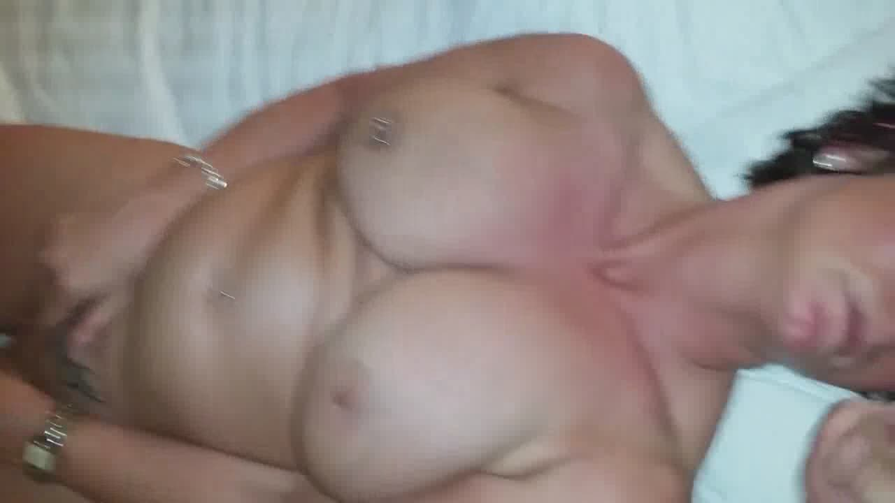 Mutual Masturbation With His Big Tits Amateur Wife