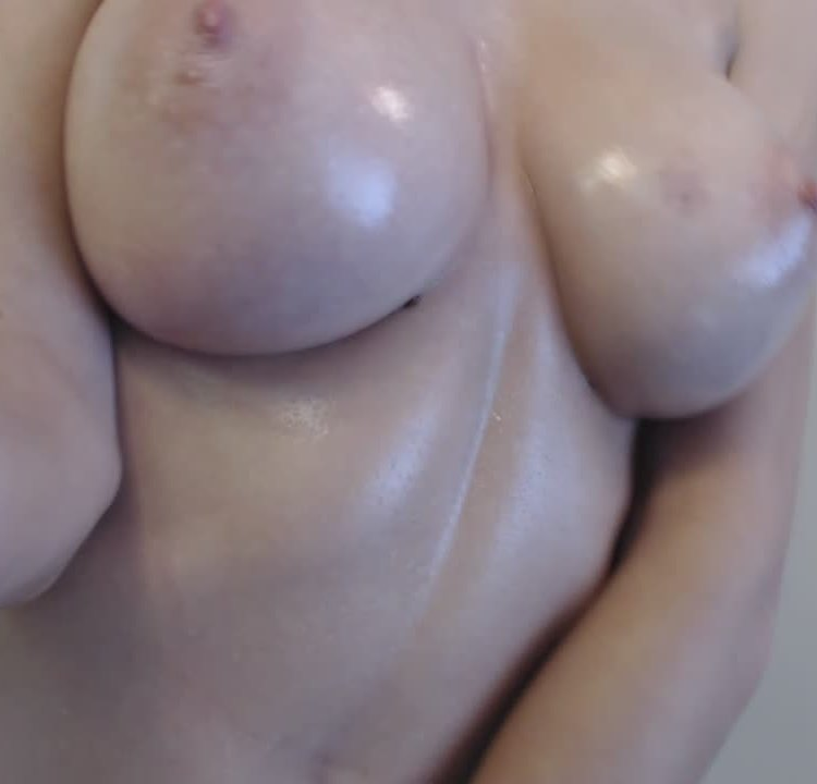 Oiled and horny