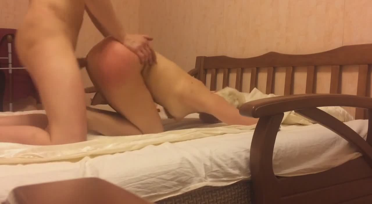 Horny Wife Enjoys The Usual Doggy In Bed