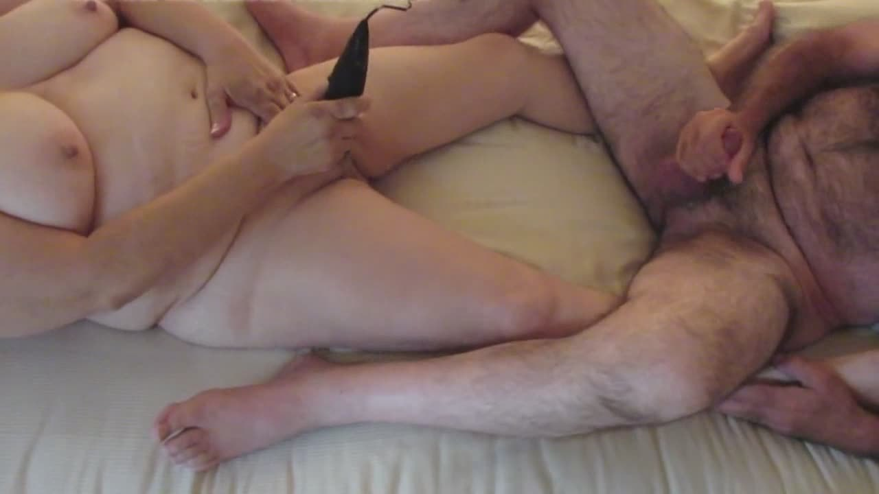First video of us masturbating together on the net