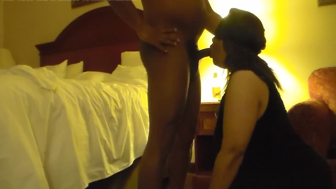 BBW big booty milking black long schlong