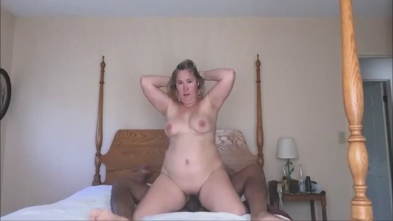 Mature wife fucked by a black man in a motel room