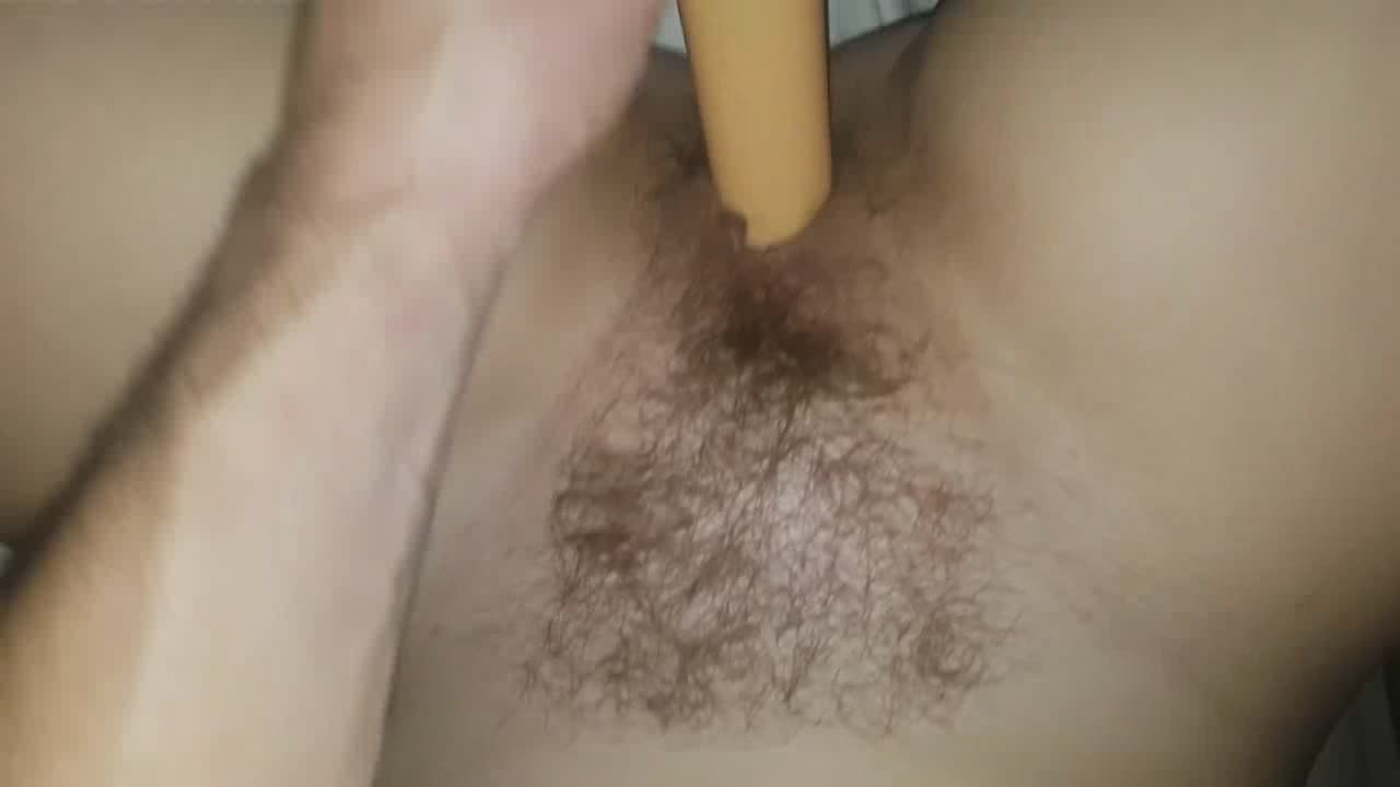 My wife begs me to use a vibrator beside my cock