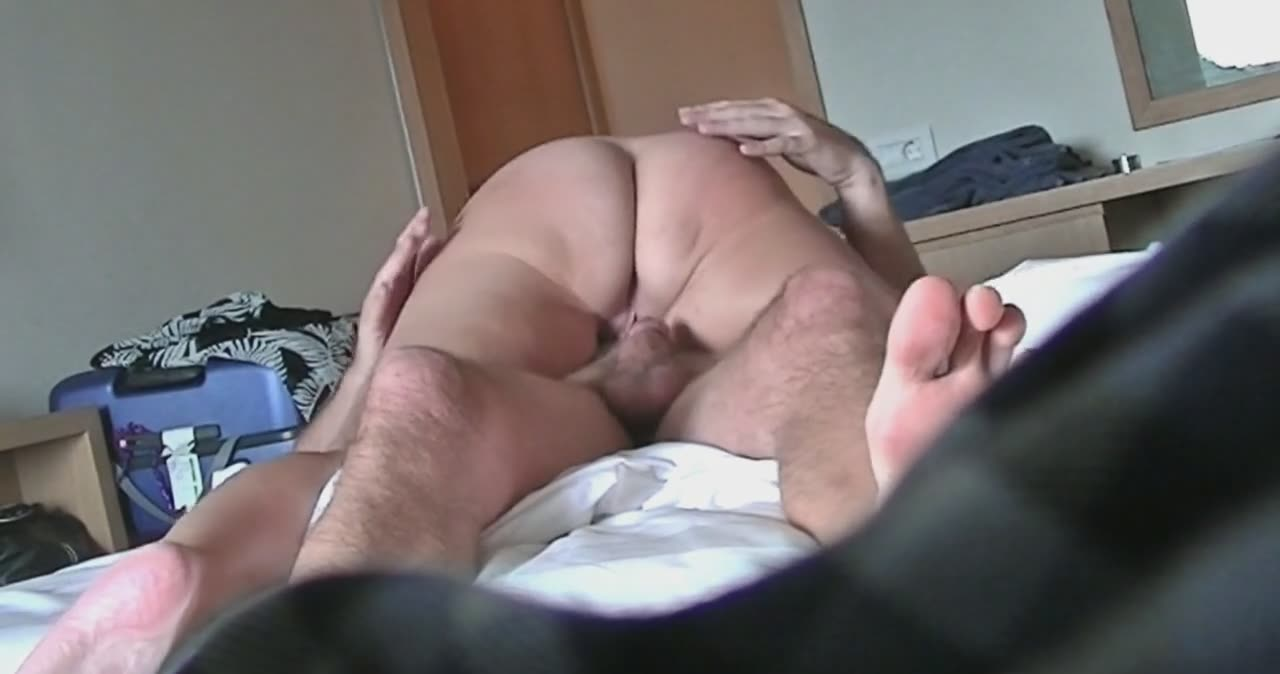 Spanked and butt fucked