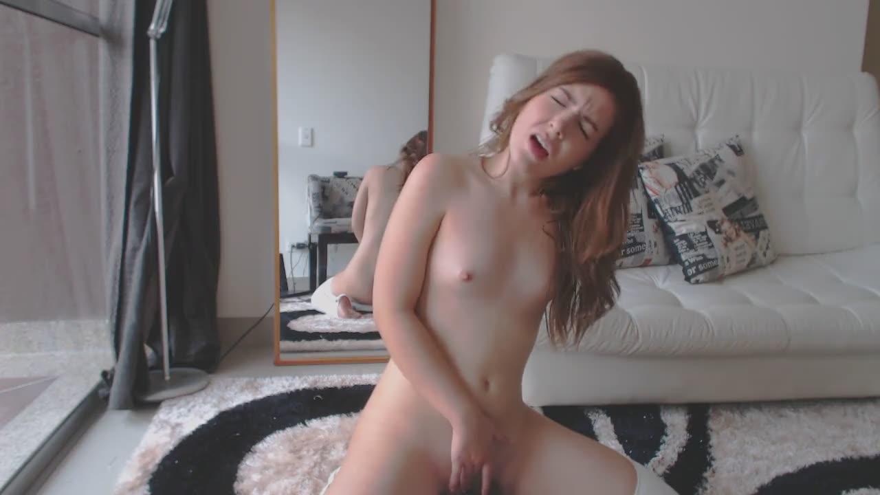 Sexy Black Girl Masturbating